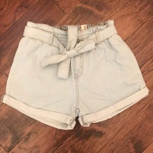 Vici Collection High-Waist Denim Shorts!